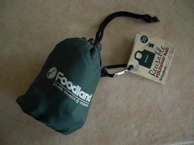 FOODLAND エコバッグ たためる携帯エコバッグ ハワイ フードランド