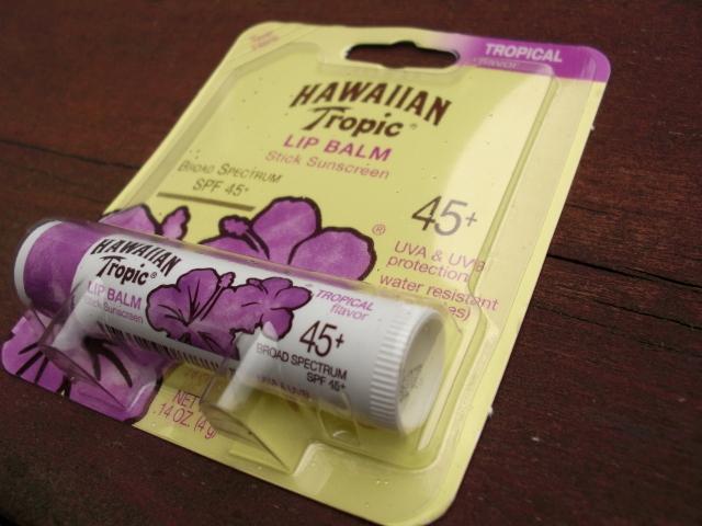 唇用日焼け止め ハワイアントロピック hawaiian tropic